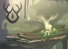 狩人と黄金の鹿_samune
